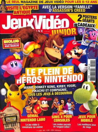 JEUX VIDEO MAGAZINE JUNIOR