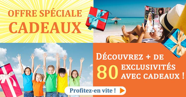 Offres Cadeau Aout 2019  CADEAUX
