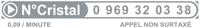 Numéro cristal 0 969 32 03 38
